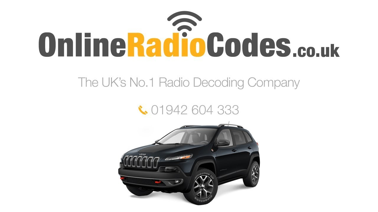 Jeep Cherokee Radio Code Stereo Codes PIN Unlock