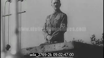 Dixième congrès du Parti Nazi à Nuremberg - 2K