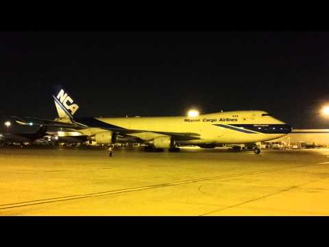 FINAL CARGO FLIGHT FOR NIPPON CARGO AIRLINES