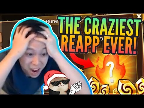 #1 BEST Reapp! EVER GOD TIER! - Runes & Reapp MAGIC! - Summoners War