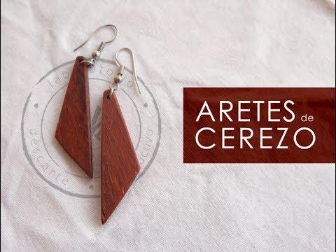 Recycled Wood Earrings