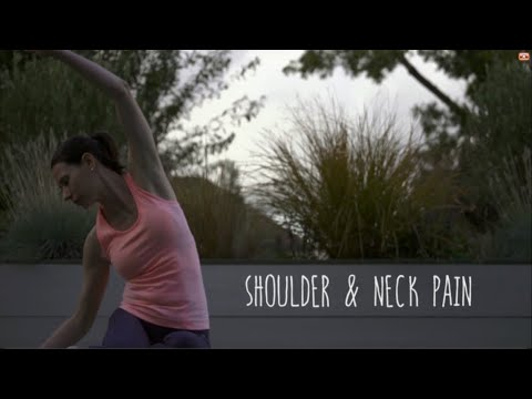Short Pilates Workout for Neck & Shoulder Pain release tense muscles