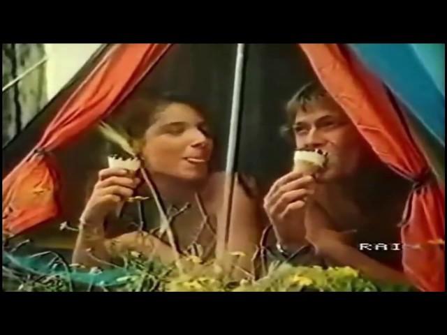 Cornetto Algida 1982 Se tu lo vuoi un cuore di panna per noi