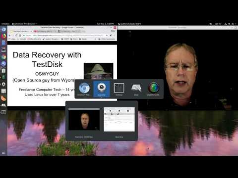 Data Recovery With TestDisk