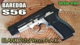Пистолет Стартовый BAREDDA S56 9mm PAK * Полная РАЗБОРКА / ЗБОРКА