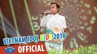 than tuong am nhac nhi 2016 - chung ket - con thuong rau dang moc sau he - ho van cuong - full hd