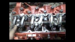 FAW 1041 Установка клапанного механизма и регулировка клапанов