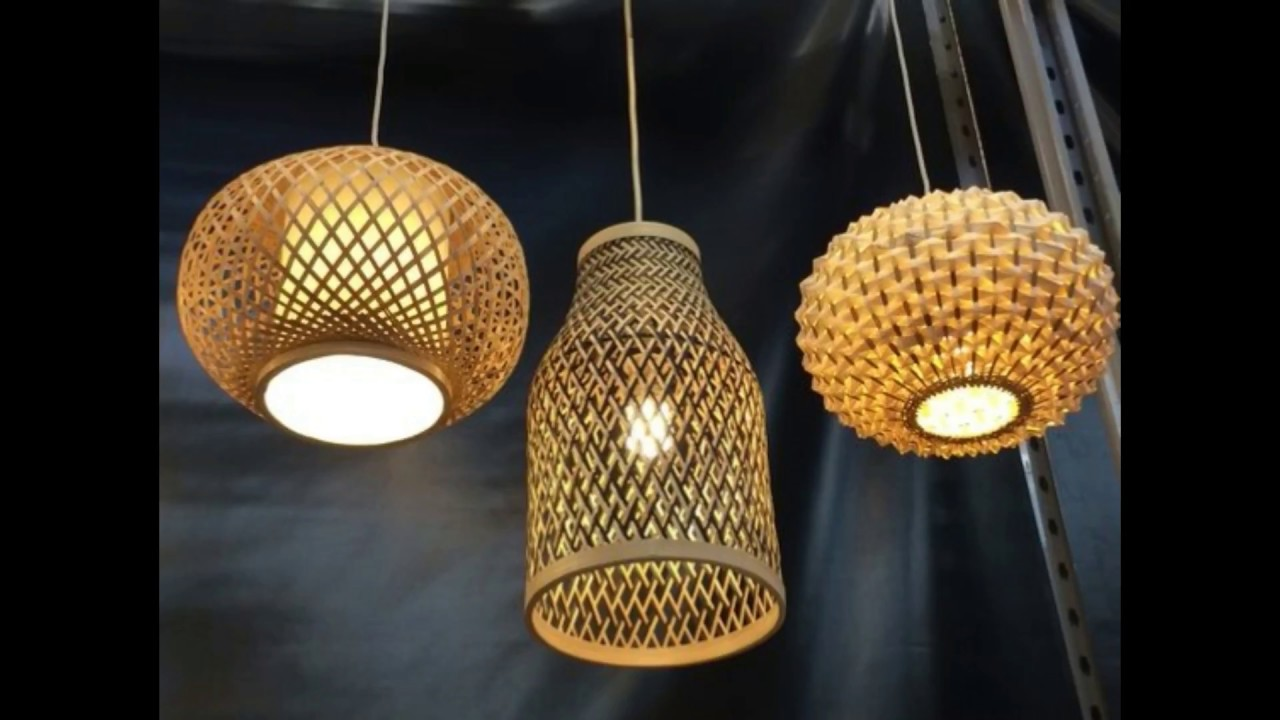 Diy Beautiful Bamboo Lamp Shades Youtube