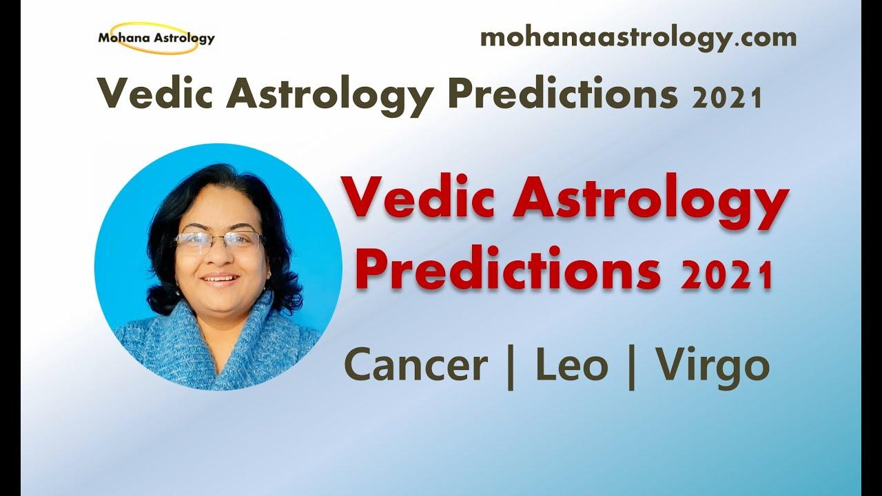 Vedic Astrology Forecast 2021