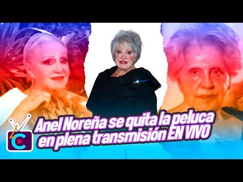 Anel Noreña se quita la peluca en plena transmisión del programa Hoy