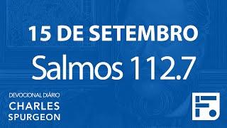 15 de setembro  – Devocional Diário CHARLES SPURGEON #259