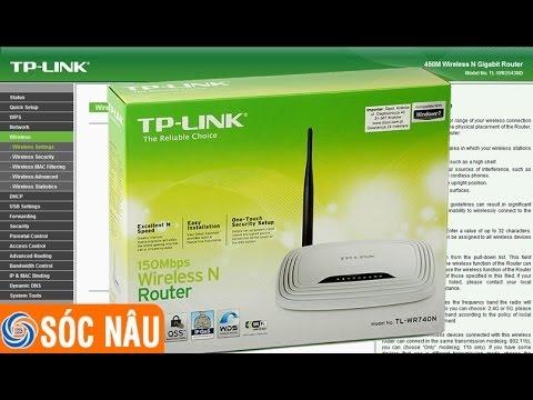 Cách cấu hình lại Wifi TP-Link