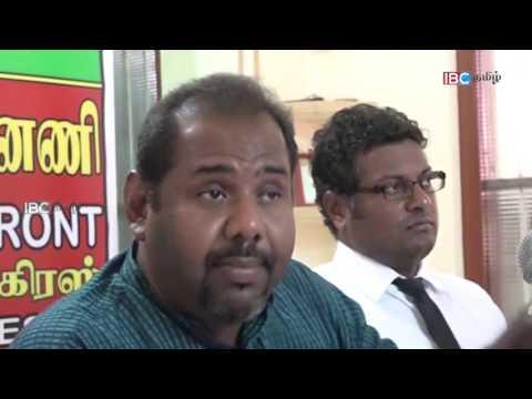 Gajendrakumar Ponnambalam Speech about C.V. Vigneshwaran - IBC Tamil