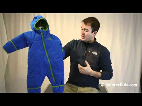 1bf5dd390 The North Face Infant Insulated Toasty Toes Bunting.m4v - YouTube