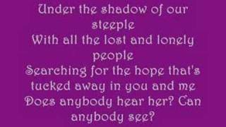 Casting Crowns-Does Anybody Hear Her? (With Lyrics)