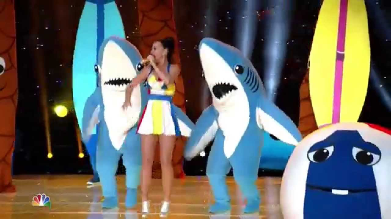 Katy Perry's Super Bowl LEFT SHARK | What's Trending Now