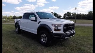 2018 Ford F 150 RAPTOR SuperCrew 4X4|Walk Around Video|In Depth Review