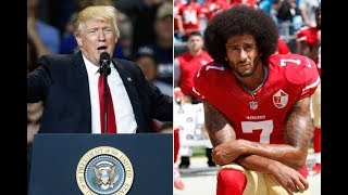 Kaepernick Rally vs Donald Trump Rally