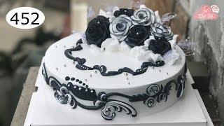 chocolate cake decorating bettercreme vanilla (452) Học Làm Bánh Kem Đơn Giản Đẹp -Thanh Lịch (452)