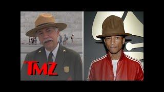 National Parks Head Talks Pharrell's Hat | TMZ