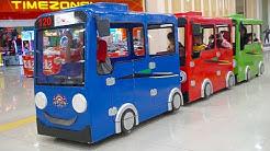 Naik Bus Tayo Gandeng Di Mall | Odong Odong Kereta TAYO Anak Anak