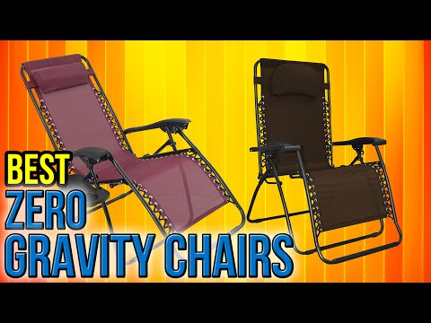 10 Best Zero Gravity Chairs 2017