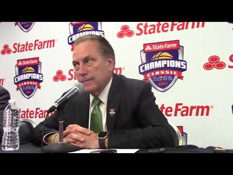 Tom Izzo After the Loss To Duke.