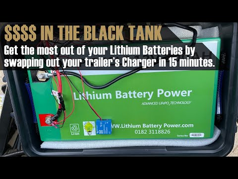 Upgrading my Travel Trailer's Charger/Converter for Lithium Batteries