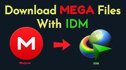 How To Download MEGA Files With IDM (Working 2020)