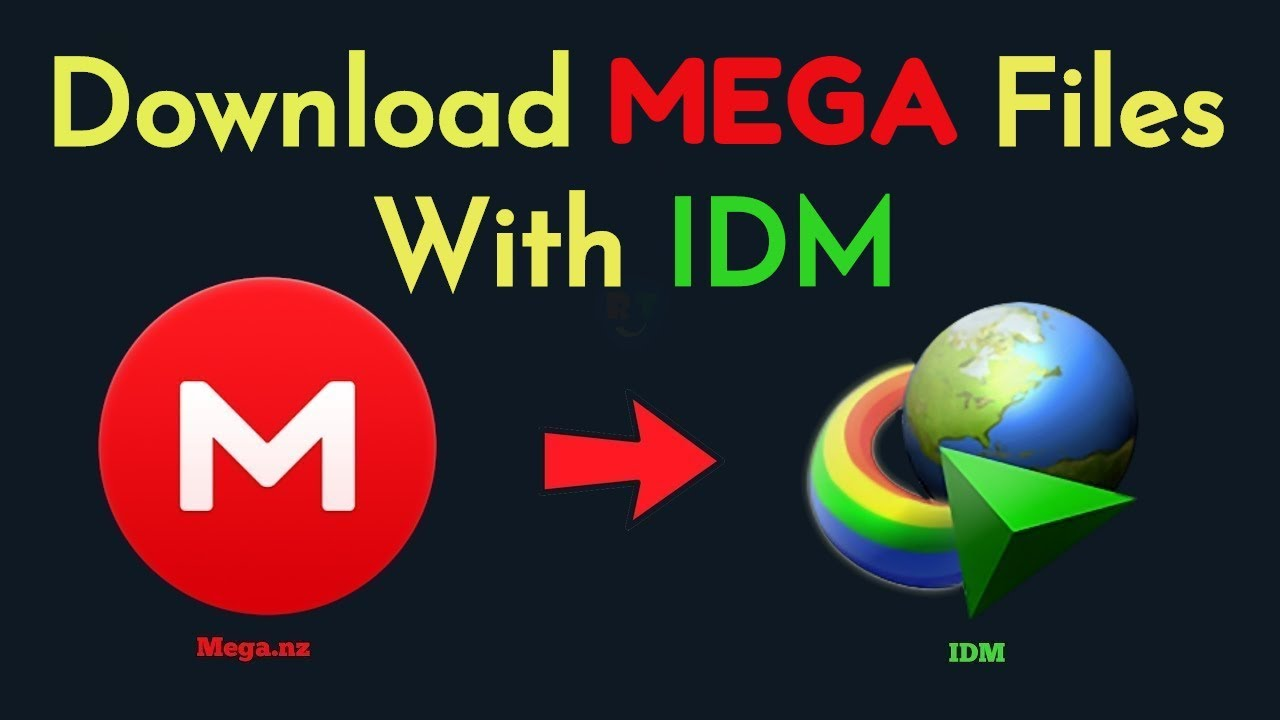 How To Download MEGA Files With IDM (Working 2019)