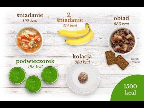 Dieta pudelkowa 1500 kcal
