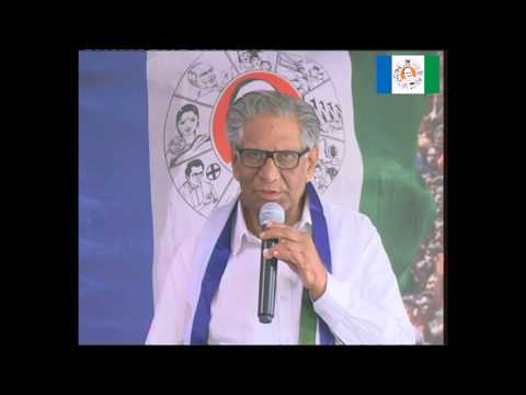 "LOTUSPOND: YSRCP Leaders release YS Jagan's ""SAMARA DEEKSHA"" posters"