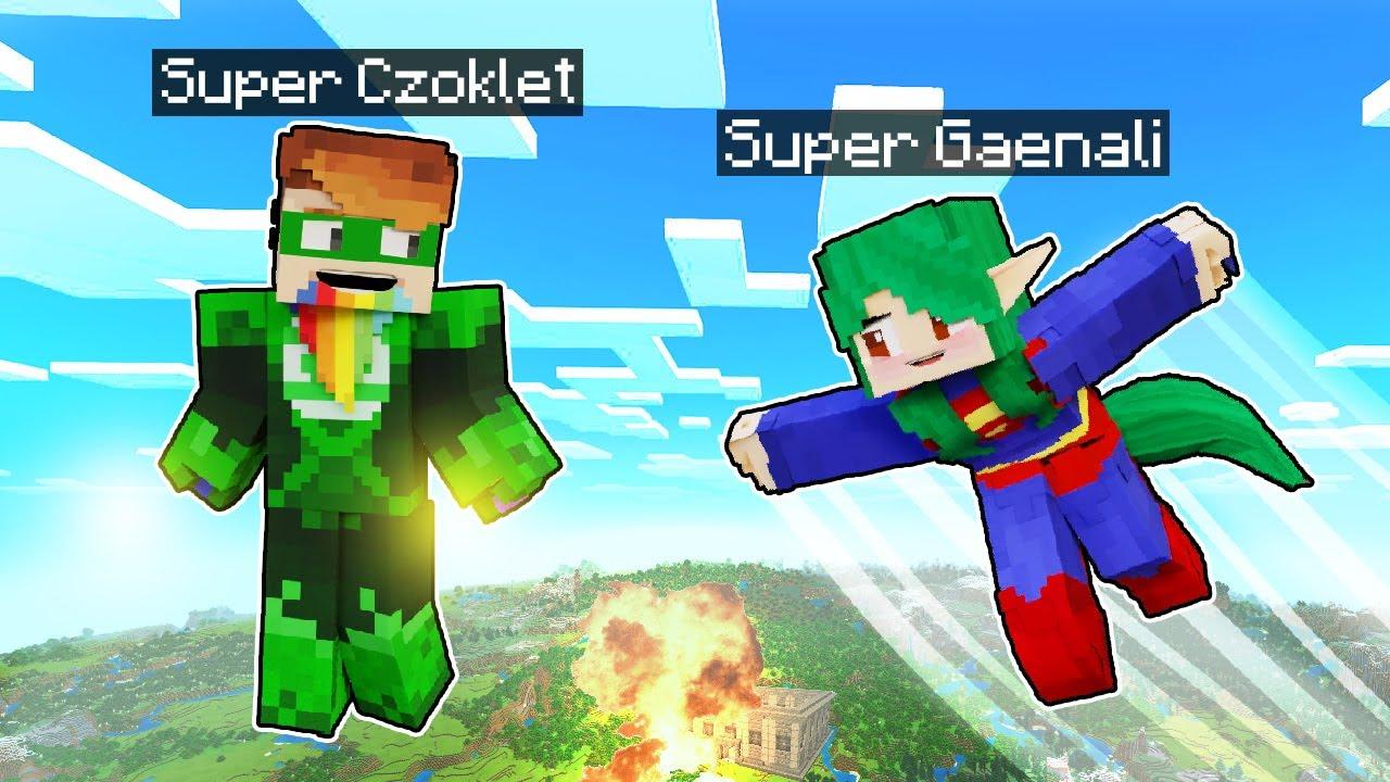 UCIEKAMY Z WIĘZIENIA JAKO SUPERBOHATEROWIE! - Minecraft   CZOKO I NALI