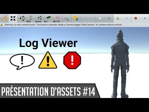 Présentation d'assets #14 : Log Viewer (Console en build) [Unity3D]