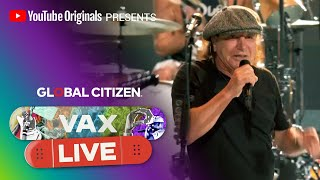 """Foo Fighters """"Back in Black""""   VAX LIVE by Global Citizen"""