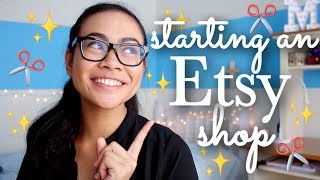 10 Tips on Starting an Etsy Shop! | SimplyMaci