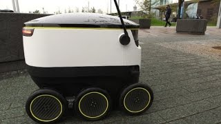 Self Driving Robots That Deliver Your Groceries