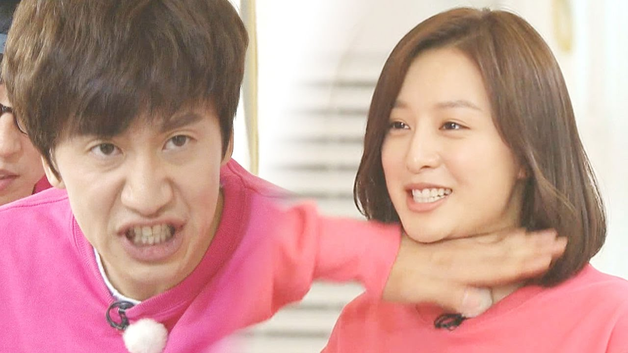 Lee Kwang Soo, so obsessed with Kim Ji Won! 《Running Man》런닝맨 EP429