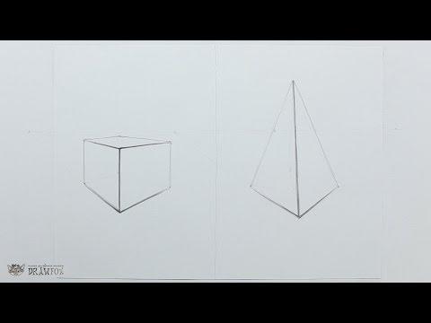 Как рисовать геометрические фигуры в объеме