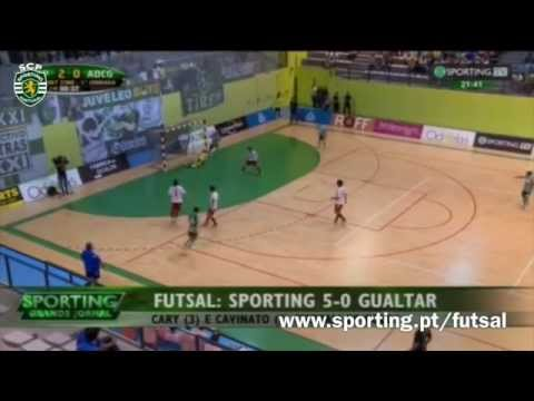 Futsal :: 14J :: Sporting - 5 x Gualter - 0 de 2015/2016