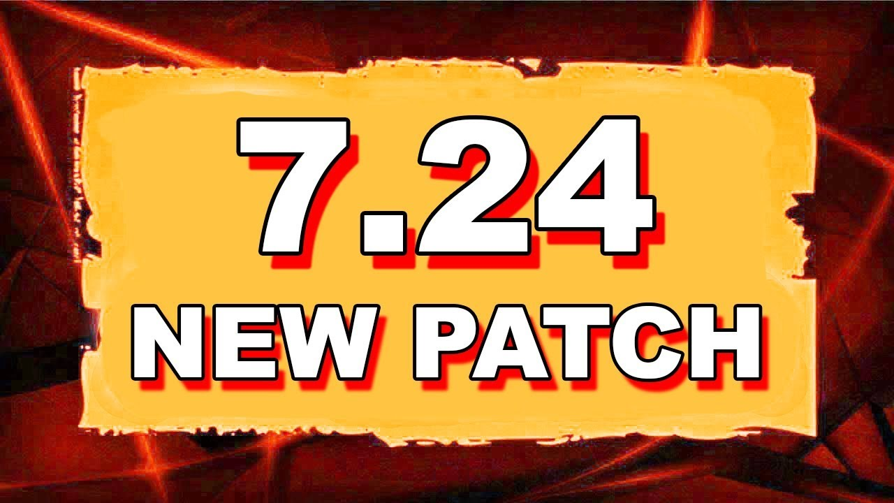 Dota 2 NEW 7.24 UPDATE - MAIN CHANGES! thumbnail