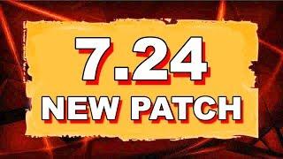 Dota 2 NEW 7.24 UPDATE - MAIN CHANGES!