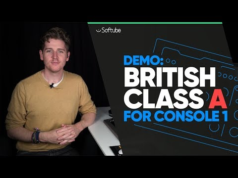 Demo: British Class A for Console 1 - Softube