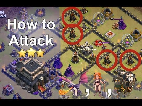 TH9: How to Attack Bases w/ Offset Air Defenses