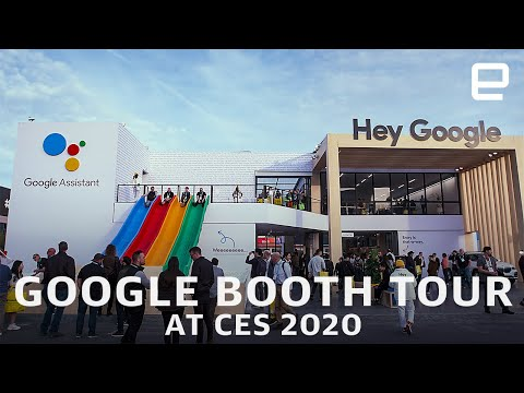 Google Booth tour