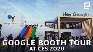 Google Booth tour at CES 2020