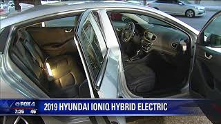 Car critic Ed Wallace reviews the 2019 Hyundai Ioniq