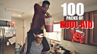 100 PACKETS OF KOOL-AID IN 1 GALLON!!!