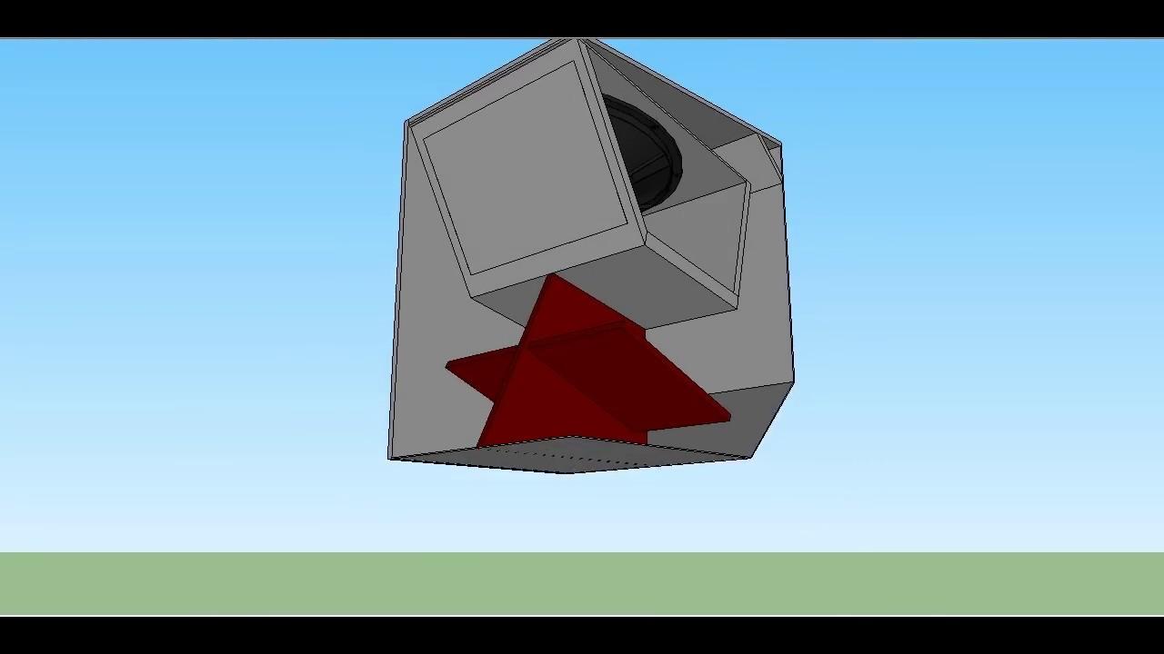 Cerwin Vega L36 18 inch Folded Horn Sub-Woofer Box Plan