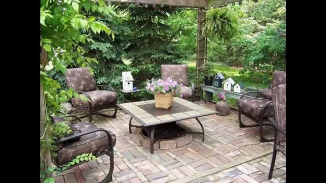 Small Patio Garden Design Ideas Youtube